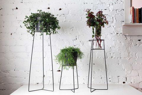 Black TEAM.WORK Pot Plant Stand – THAT LITTLE SHOP