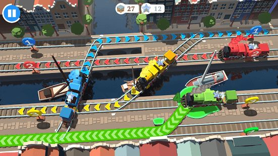 Train Conductor World is a high-speed train traversal puzzler; trundle, turn and track in this spectacular European adventure!