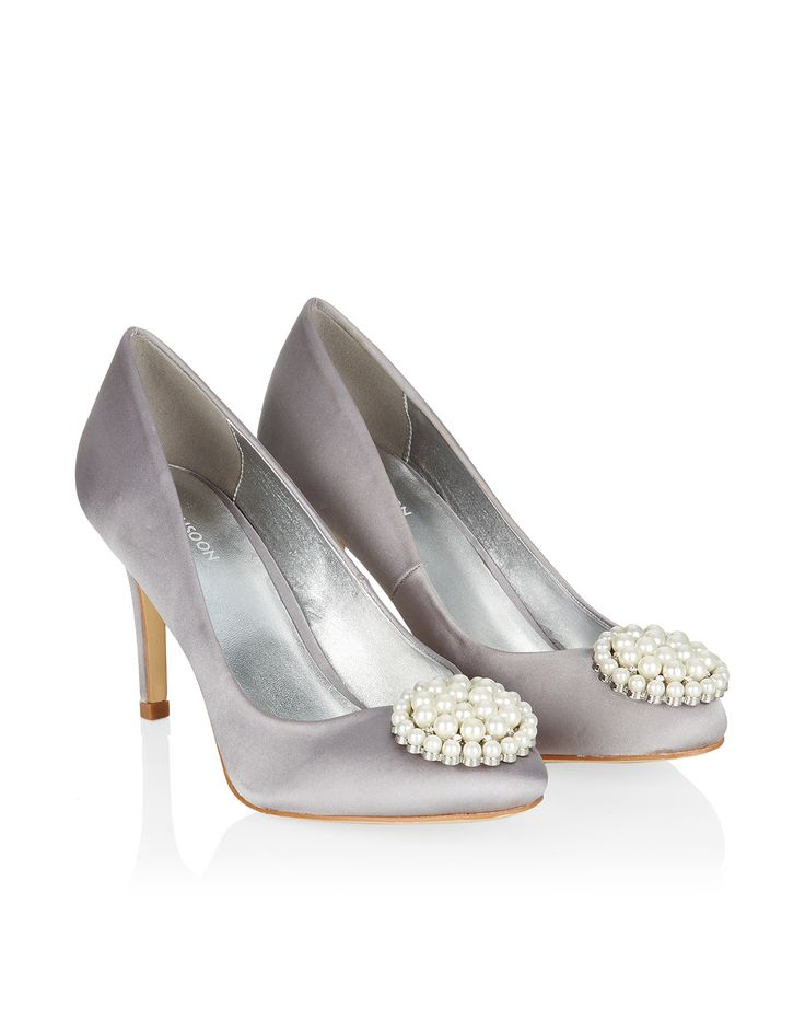 Aden Pearl Trim Court | Grey | Monsoon