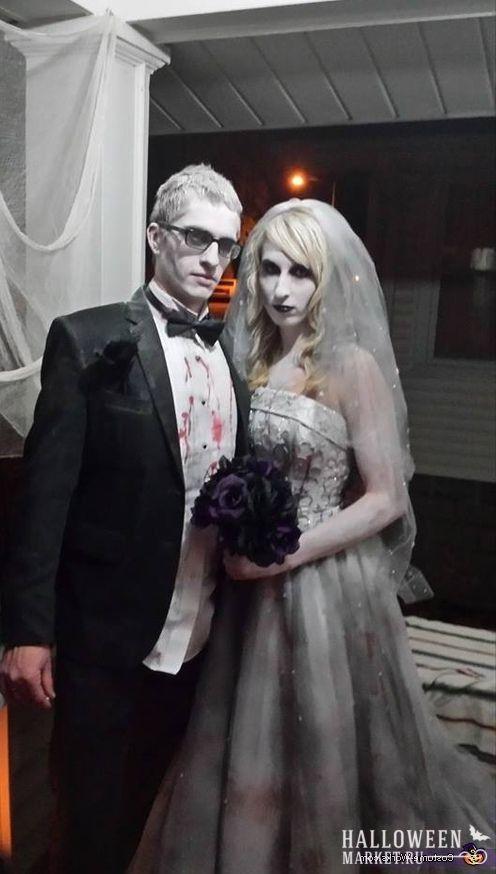 #zombie #bride #makeup #costume #halloweenmarket #halloween  #зомби #костюм #невеста #образ Костюм на хэллоуин: невеста зомби (фото) Ещё фото http://halloweenmarket.ru/%d0%ba%d0%be%d1%81%d1%82%d1%8e%d0%bc-%d0%bd%d0%b0-%d1%85%d1%8d%d0%bb%d0%bb%d0%be%d1%83%d0%b8%d0%bd-%d0%bd%d0%b5%d0%b2%d0%b5%d1%81%d1%82%d0%b0-%d0%b7%d0%be%d0%bc%d0%b1%d0%b8-%d1%84%d0%be%d1%82%d0%be/