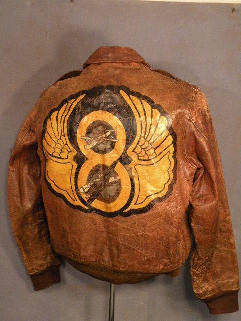 WWII painted Flight Jacket