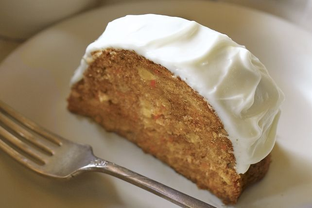 Serve up a super-moist carrot cake with a sweet cream cheese frosting.  This carrot cake recipe is our best one yet!