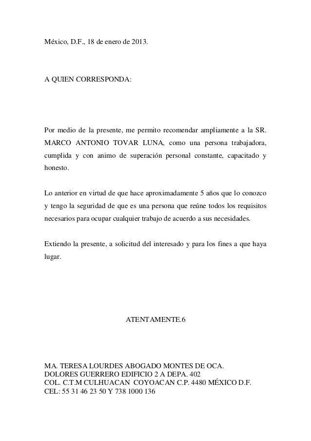Pin De Xo En Plantilla Cv Cartas De Recomendacion Carta De Referencia Ejemplo De Carta