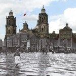 ¿Qué tanto ha cambiado la Ciudad de México en 100 años? Descúbrelo a través de estos montajes fotográficos de la obra Manuel Ramos.