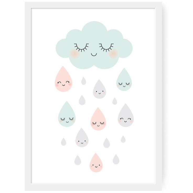 New ! Affiche Douce Pluie | Zü