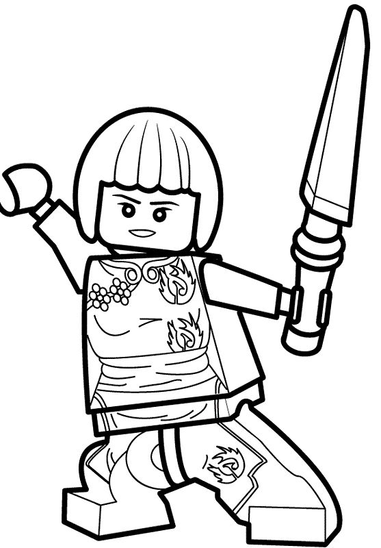 25 best ideas about coloriage ninjago on pinterest - Coloriage ninjago lego a imprimer ...