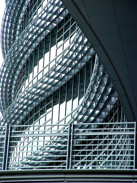 The Alcoa building on the north shore of Pittsburgh, USA