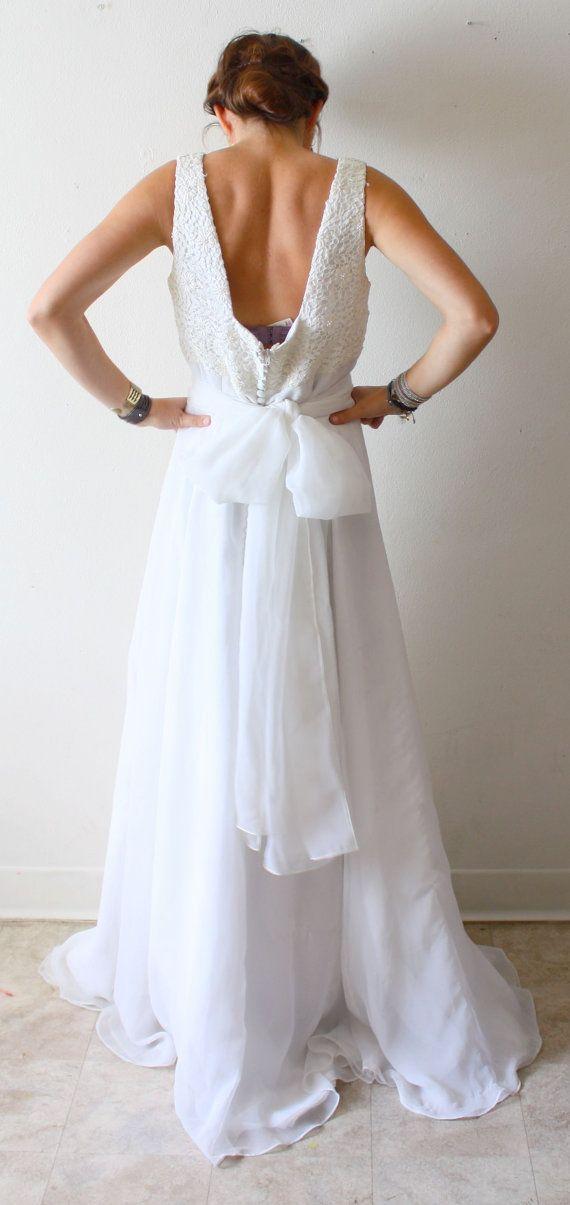 Einfaches Hochzeitskleid für unter 100 Euro