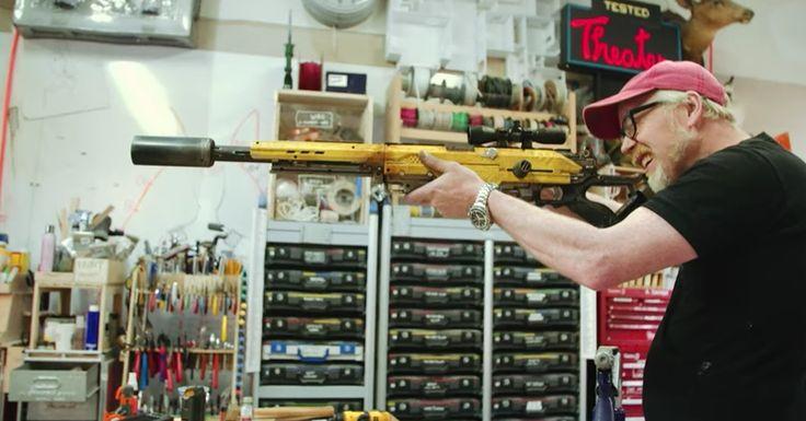 Actual sniper scope included.