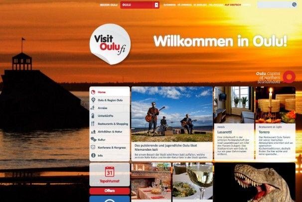 Neue Visit Oulu Internetseite online, #Oulu, #Finland - http://www.nordicmarketing.de/neue-visit-oulu-internetseite-online/