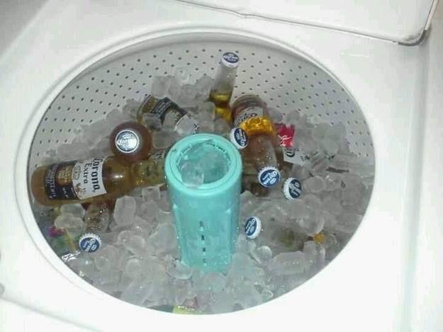 Utilizzare la lavatrice come un dispositivo di raffreddamento