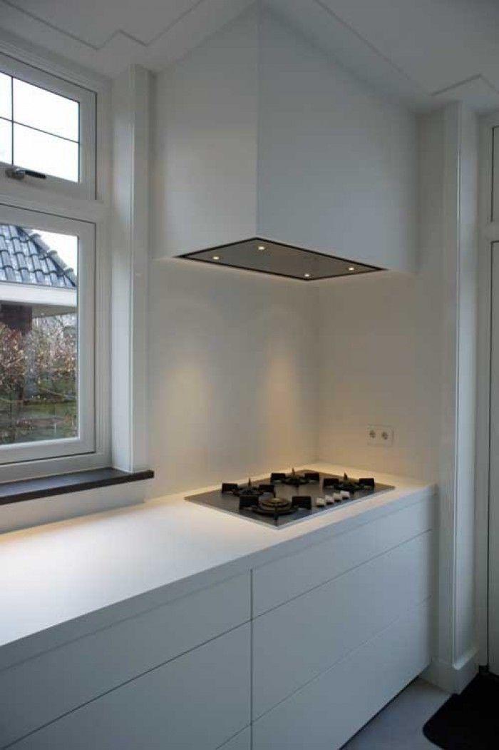 20 beste idee n over afzuigkap op pinterest fornuis afzuigkappen dampkappen en afzuigkap - Keuken witte laquee ...
