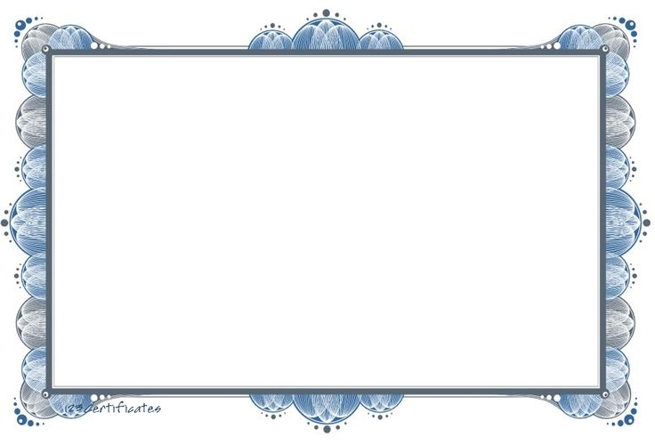 Printable Award Certificates Blank | free certificate border artwork, certificate background templates ...