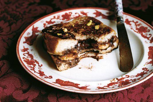 Ravinder Bhogal, Banana Hazelnut French Toast