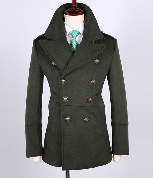 Antique pea coat