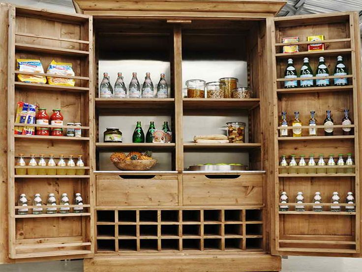 Exceptional Free Standing Pantry Cabinet