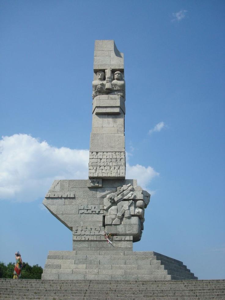 Westerplatte, 2nd World War Memorial, Gdansk. Poland - Pomnik Obrońców Westerplatte