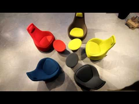 Dimsum Montis Rockingchair by Slijkhuis Interieur Design