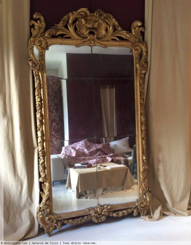 les 77 meilleures images propos de miroir sur pinterest miroirs vintage grands miroirs et. Black Bedroom Furniture Sets. Home Design Ideas
