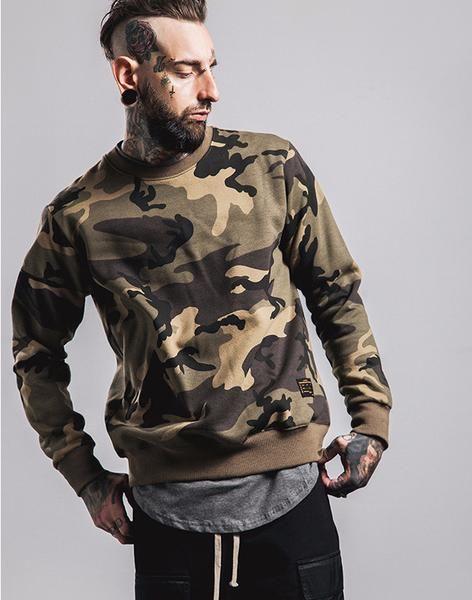 Sovereign® Thick Camo Sweatshirt
