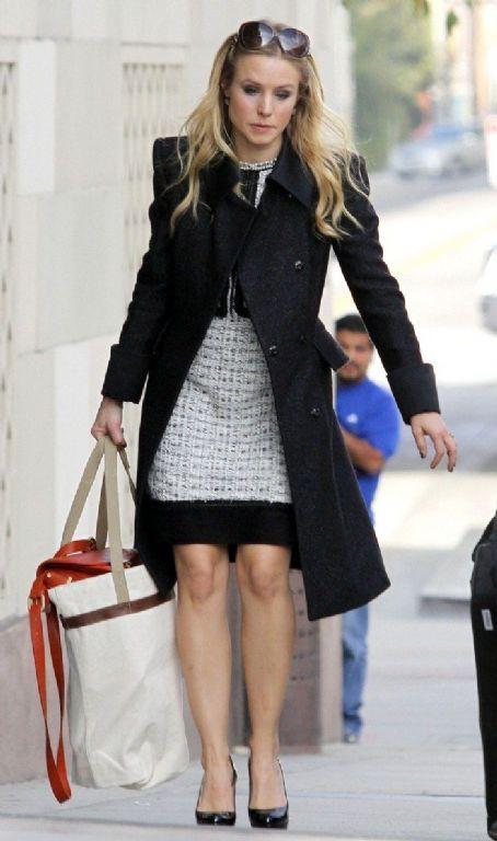 Kristen Bell Street Style