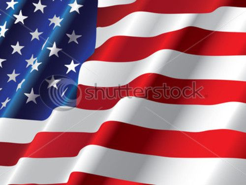 American Flag Painter | George Zimmerman's Painting of an American Flag Stock Image Is Up to ...