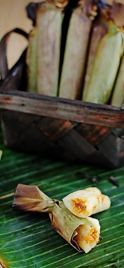 Pulut Udang Medan - Shrimp Rolls