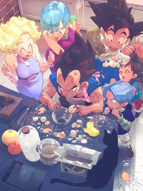 830 best images about the best dragonball z pics on pinterest - Goku e bulma a letto ...