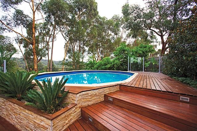 Yes You Can Afford A Pool Pool Landscaping Swimming Pools Backyard Pool Deck Plans