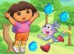 Dora e il suo migliore amico Boots, stanno affrontando una nuova avventura ma, stavolta è complicato e serve il tuo aiuto. Ricorda che Dora non ama l'acqua e Boots odia il fuoco!