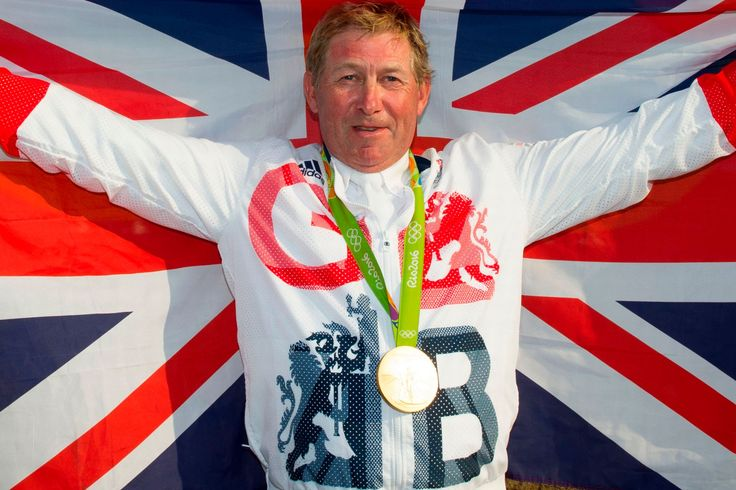 Nick Skelton wins gold in the Equestrian Jumping Individual