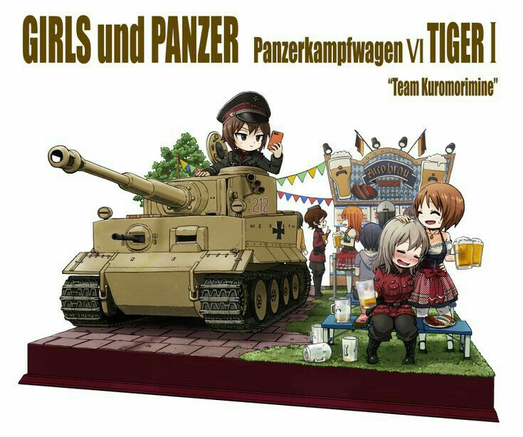 Pin By Ender Dragonoth On Girls Und Panzer Anime Tank Anime Military Military Girl