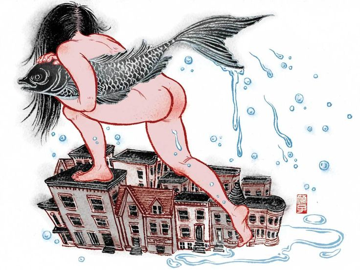 Иллюстрации Юко Шимицу. Японский взгляд из Нью-Йорка -