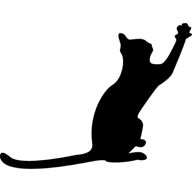 1000+ images about cat sillouettes on Pinterest | Cat outline, The ...