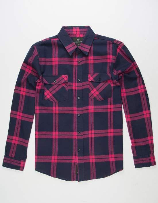 SHOUTHOUSE Huron Mens Flannel Shirt