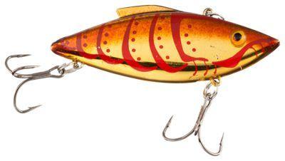 Bill Lewis Original Rat-L-Trap Hard Bait - Goldfire Craw