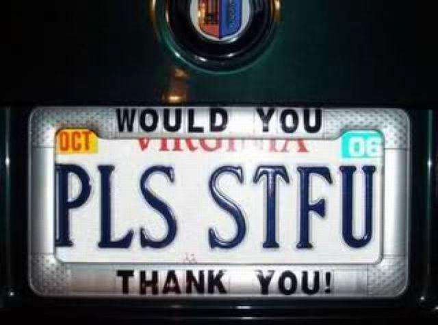 34 Hilarious Custom License Plates