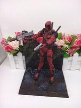 2016 Marvel Superhero Deadpool PVC Action Figure Wade Wilson Kids Toys X Men Anime Figurine