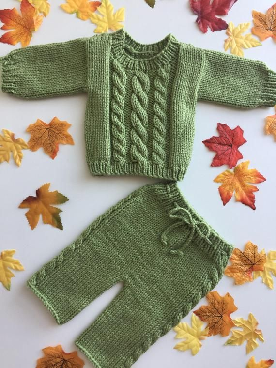 Newborn baby boy homecoming outfit,Easter outfit,takehome outfit,knit,green,handmade,photo prop,layette,babyshower gift,sweater