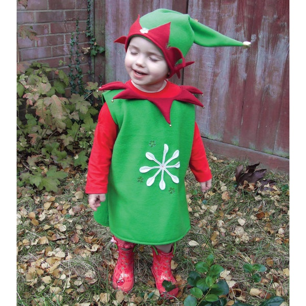handmade santas elf costume for baby and toddler 8100 via etsy - Baby Grinch Halloween Costume