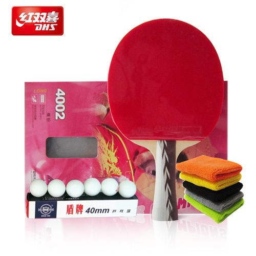 Cheap Table Tennis Rackets on Sale at Bargain Price, Buy Quality racket tennis, racket badminton, bag women from China racket tennis Suppliers at Aliexpress.com:1,Bottom:compound 2,Model Number:4002 3,Color:Red 4,Weight:Light Tip Heavy Handle (Defensive) 5,Grip Means:Straight Grip