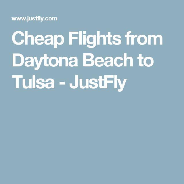 Cheap Flights from Daytona Beach to Tulsa - JustFly
