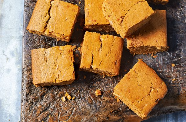 "This delicious tray bake by the King of baking Paul Hollywood is sweet, soft and very addictive! He says: ""Strangely enough, many old recipes for Welsh gingerbread don�t include any ginger. It seems to have been a general name for cakes sold at festivals and fairs. I�ve added ginger here, but you could leave it out if you like. It�s kidology � the black treacle adds lots of flavour and tricks you into thinking the cake contains ginger. It�s worth buying the large pieces of candied peel…"