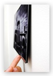 A Fracture is the new way to print and frame your personal digital photos. Get your images printed in full vivid color on smooth glass and easily mount them directly to your wall