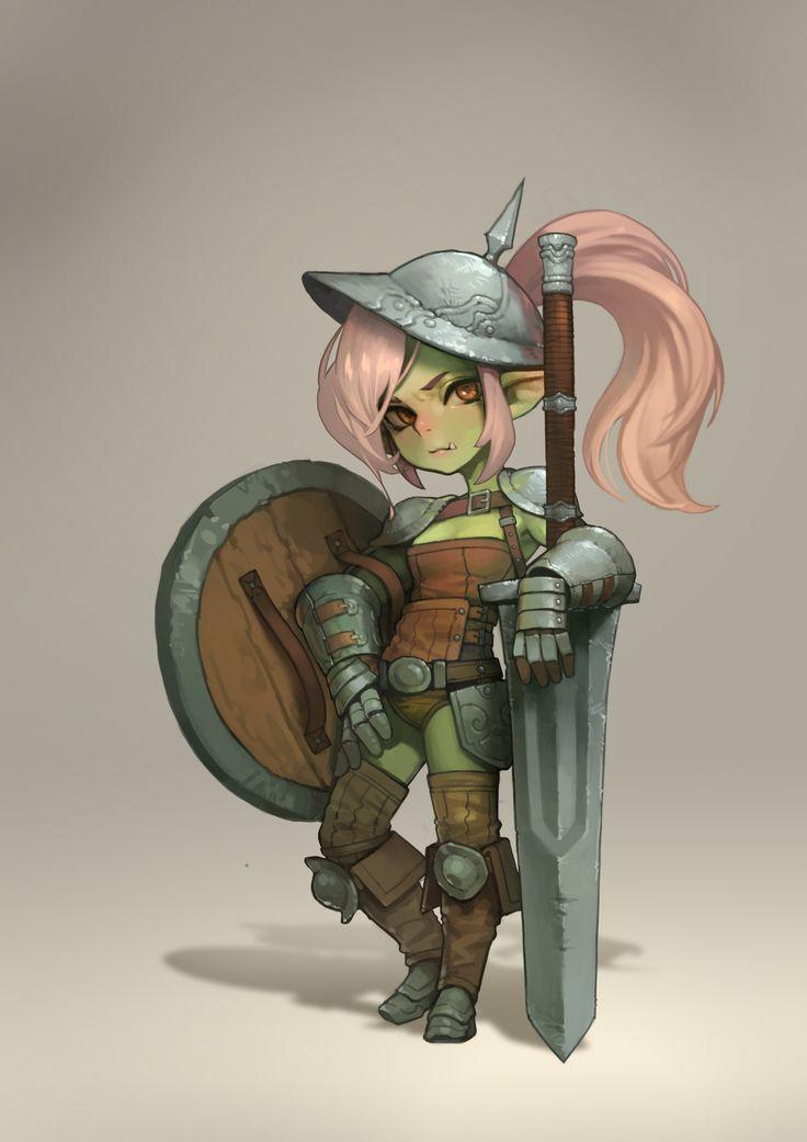 ArtStation - Goblin knight, DongJun Seo