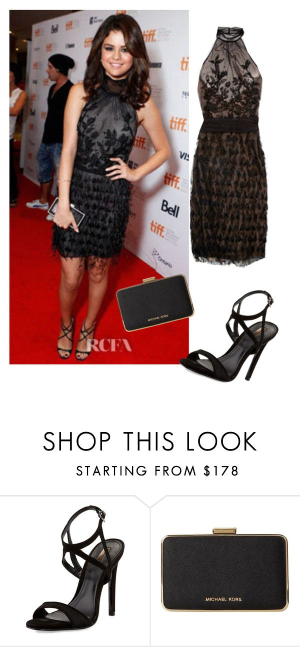 """""""selena g"""" by miss-boss2001 ❤ liked on Polyvore featuring Emilio Pucci, Schutz and MICHAEL Michael Kors"""