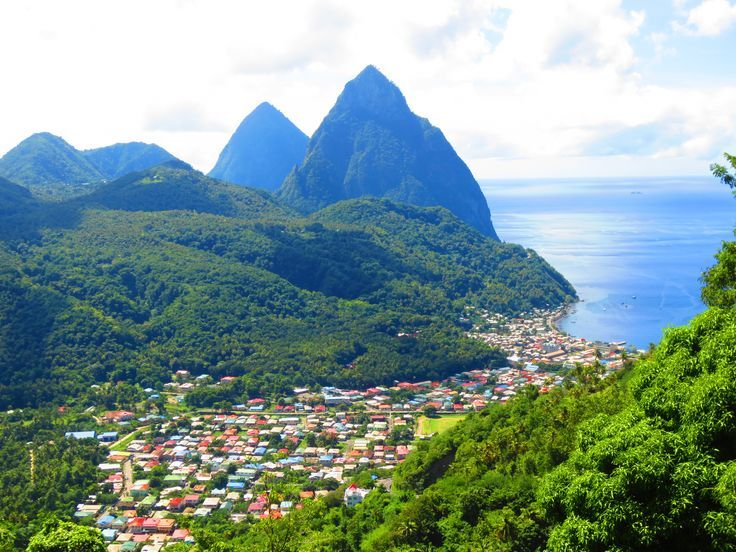 Explore The Beauty Of Caribbean: 25+ Best Ideas About Pitons St Lucia On Pinterest