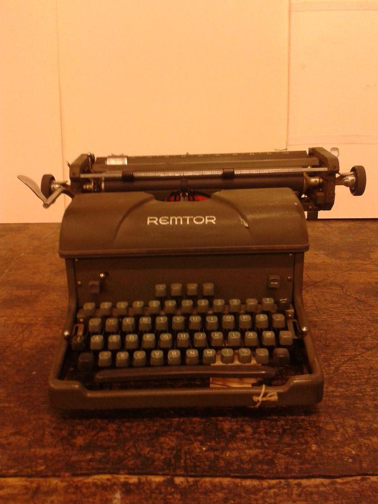 Skrivemaskine #OldSchool