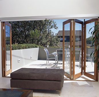 Definitely fans of bi-folding doors but unsure how they would fit with a classic design?