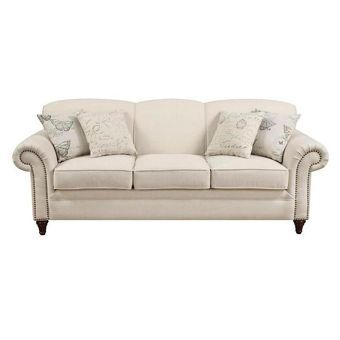 Traditional Cream Sofa | Nebraska Furniture Mart